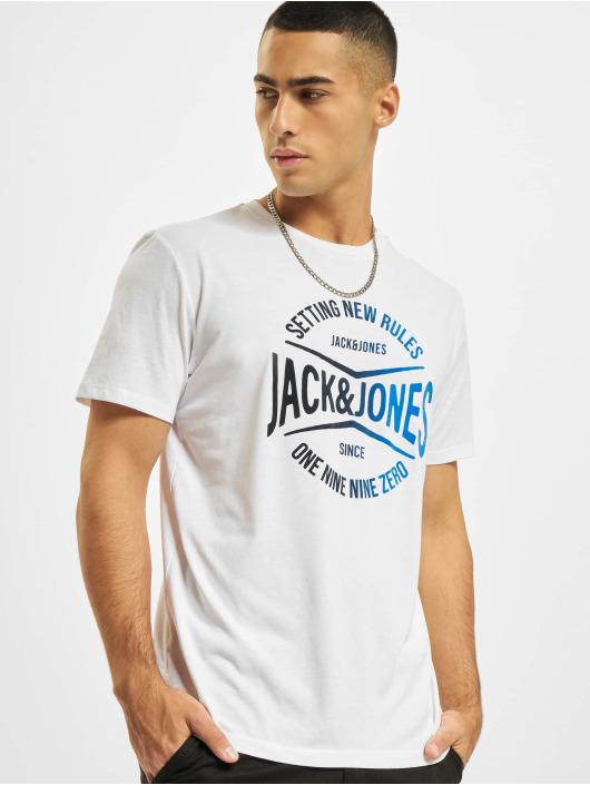 Jack & Jones T-Shirt JjNick weiß
