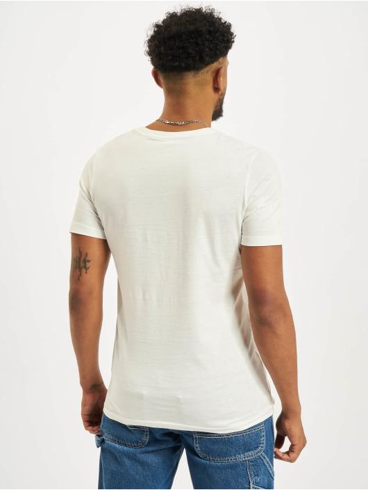 Jack & Jones T-Shirt Jjelogo O-Neck weiß