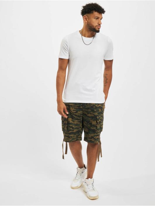 Jack & Jones T-Shirt Jjeorganic O-Neck weiß