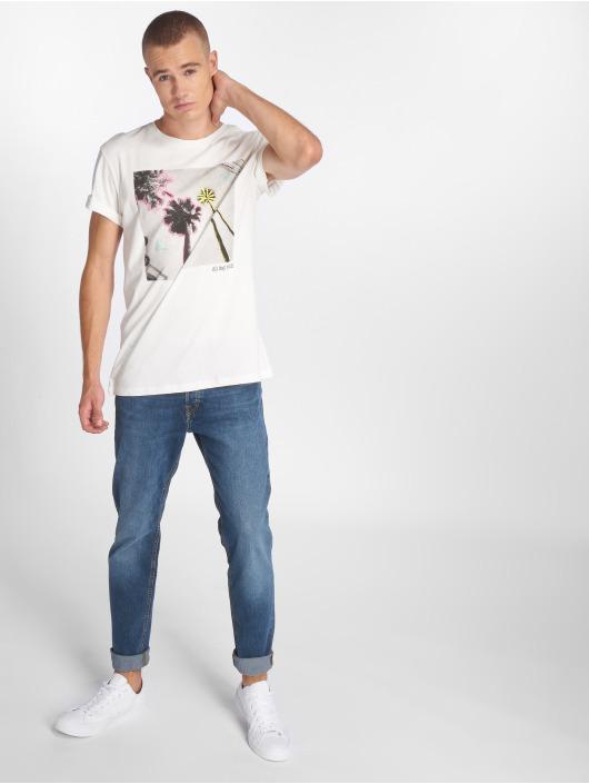 Jack & Jones T-Shirt jorRailroad white