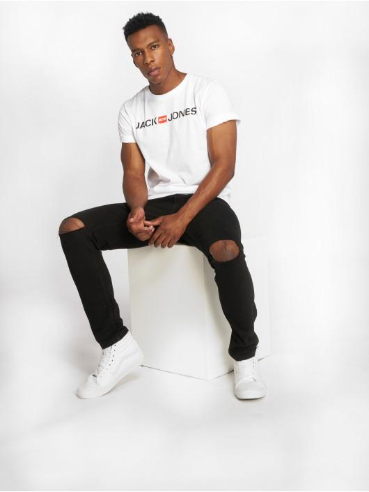 Jack & Jones T-Shirt jjeCorp Logo white