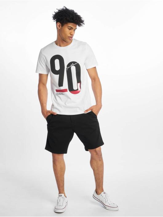 Jack & Jones T-Shirt jcoSpring-Feel white