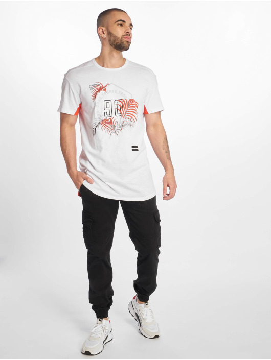 Jack & Jones T-Shirt jcoLeaf white