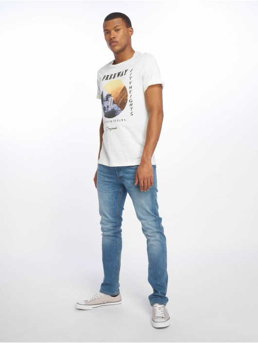 Jack & Jones T-Shirt jorSuburban white