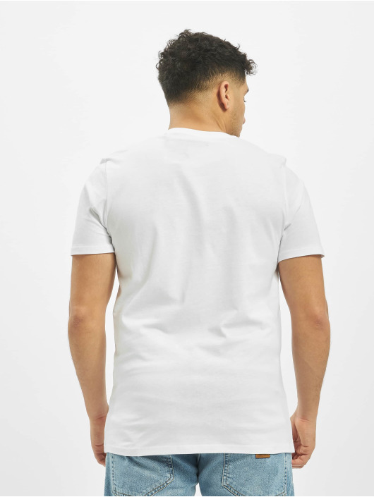Jack & Jones T-Shirt jjeDenim Logo O-Neck Noos white