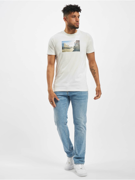 Jack & Jones T-Shirt jorDylant Crew Neck white