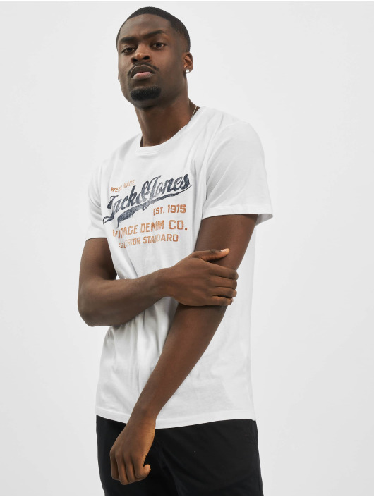 Jack & Jones T-Shirt jprBlubilly Autumn white