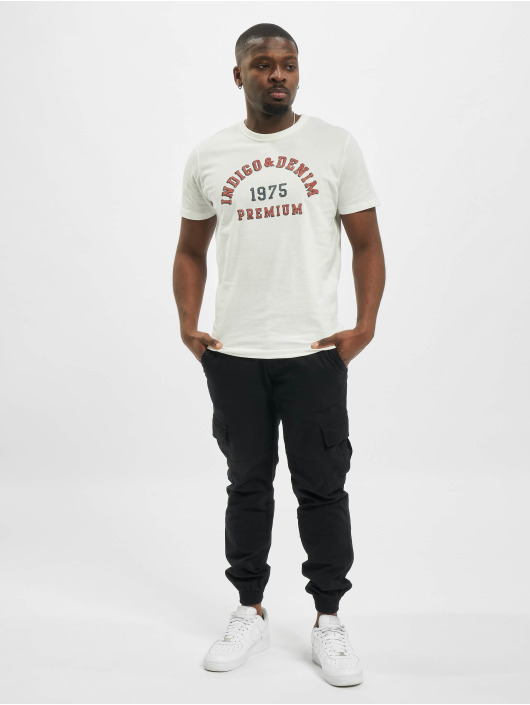 Jack & Jones T-Shirt jprBlu Re-Runner white