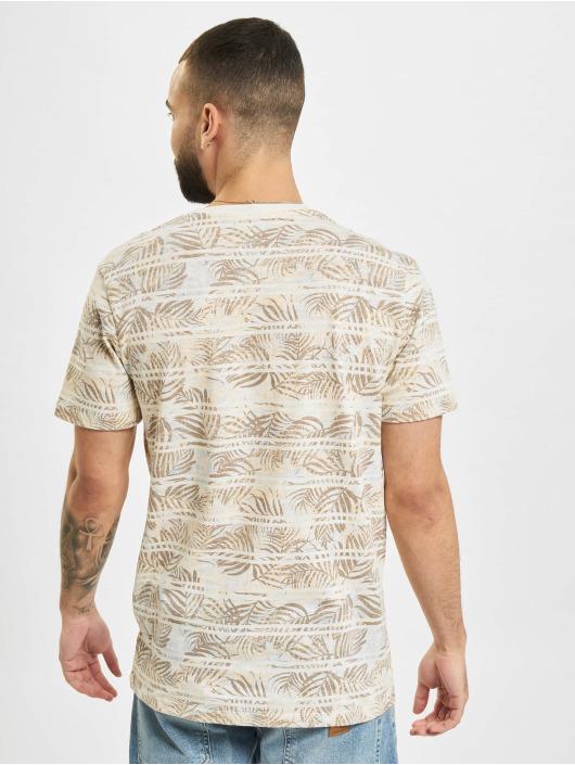 Jack & Jones T-Shirt JPR Bludust Placement Stripe white