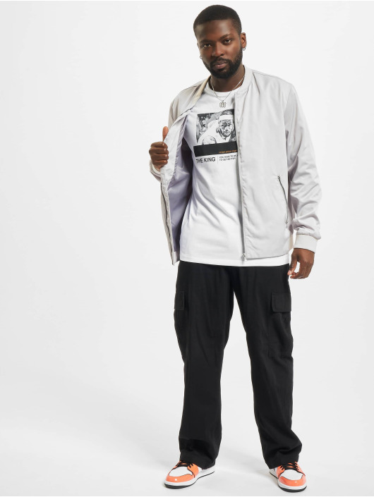 Jack & Jones T-Shirt Jcolegends Statement Crew Neck white