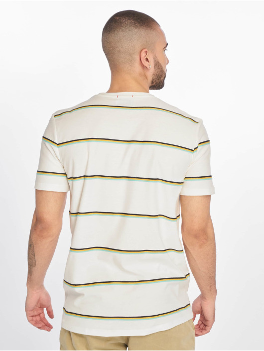Jack & Jones t-shirt jorHerringbone wit