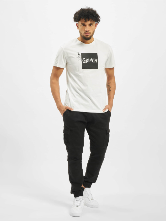 Jack & Jones t-shirt jorGrinch wit