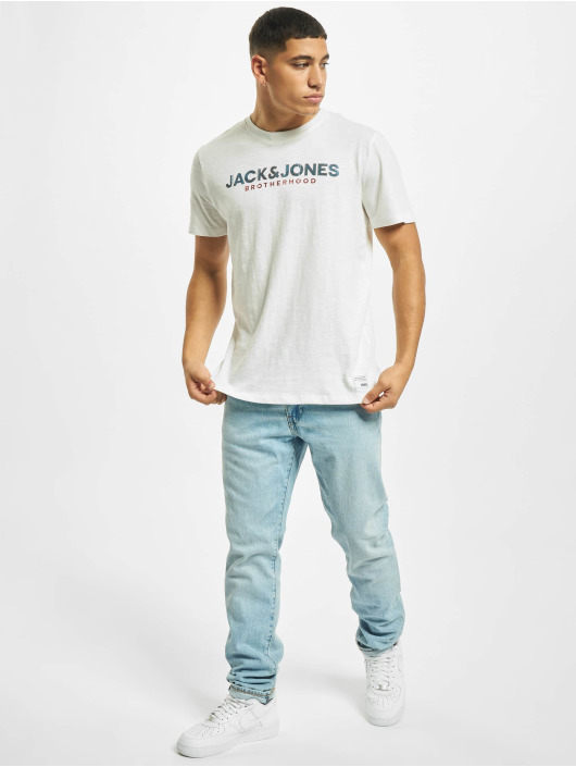 Jack & Jones t-shirt jj30Jones Slub wit