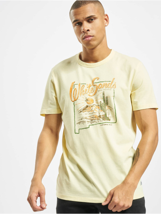 Jack & Jones T-Shirt Jprryan yellow