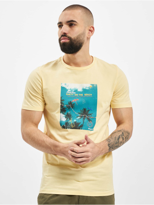 Jack & Jones T-Shirt jorLuciano yellow