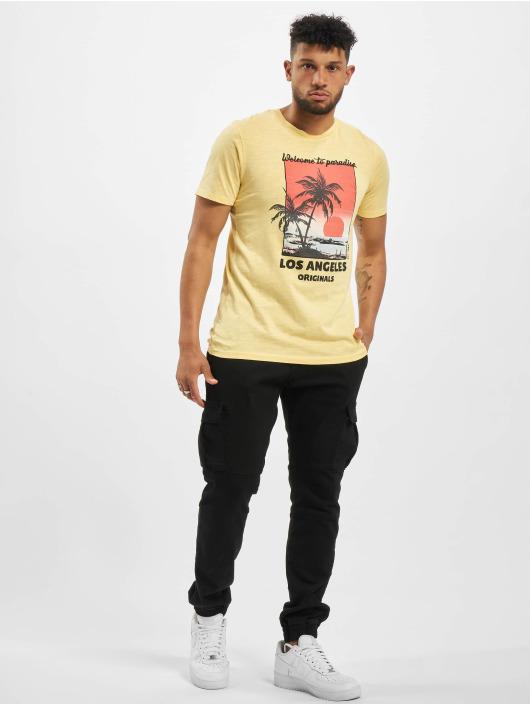 Jack & Jones T-Shirt jorKallo yellow