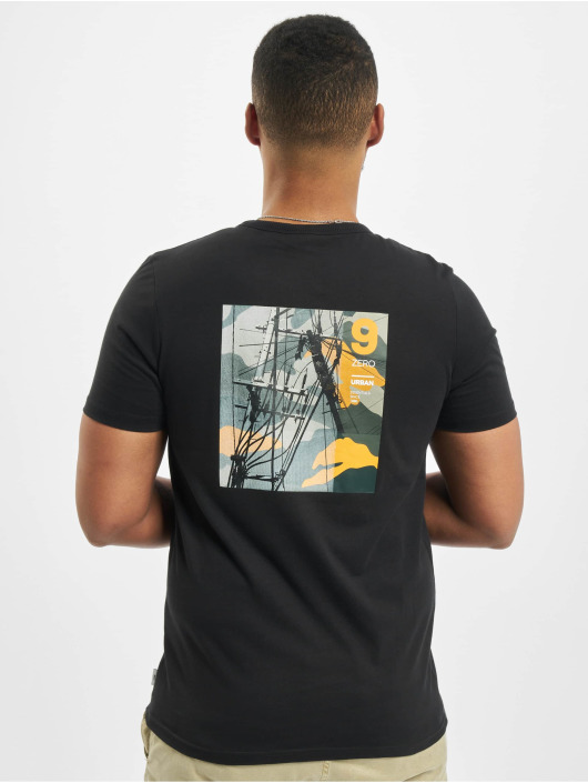 Jack & Jones t-shirt jcoSignal zwart