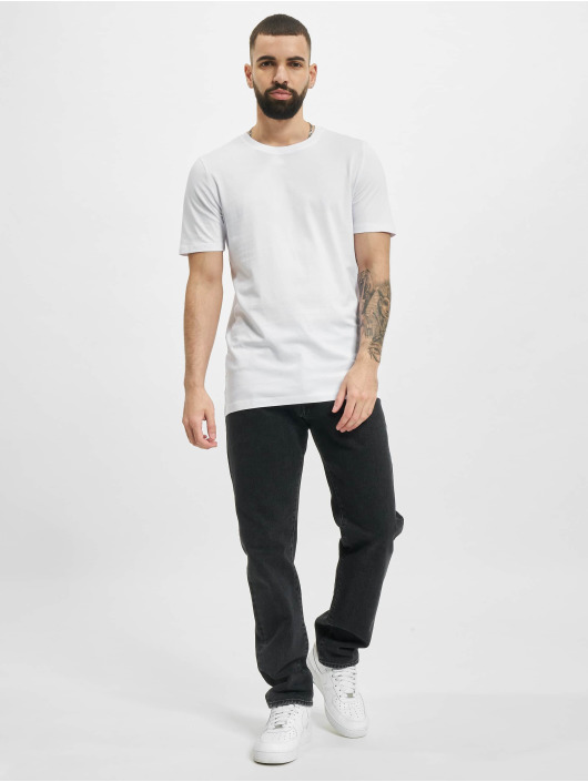 Jack & Jones t-shirt Jjeorganic Basic O-Neck 3-Pack zwart