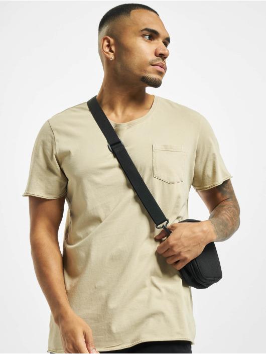 Jack & Jones T-shirts jorZack beige