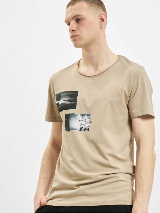 Jack & Jones T-shirts jorNobody beige