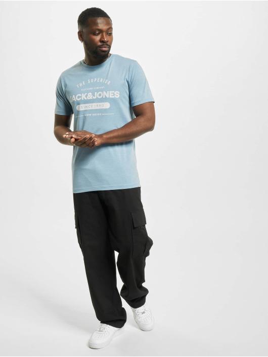 Jack & Jones T-shirts jjeJeans Noos blå