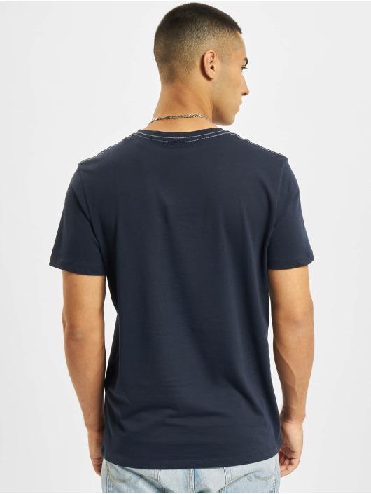 Jack & Jones T-shirts Jorocto Crew Neck blå