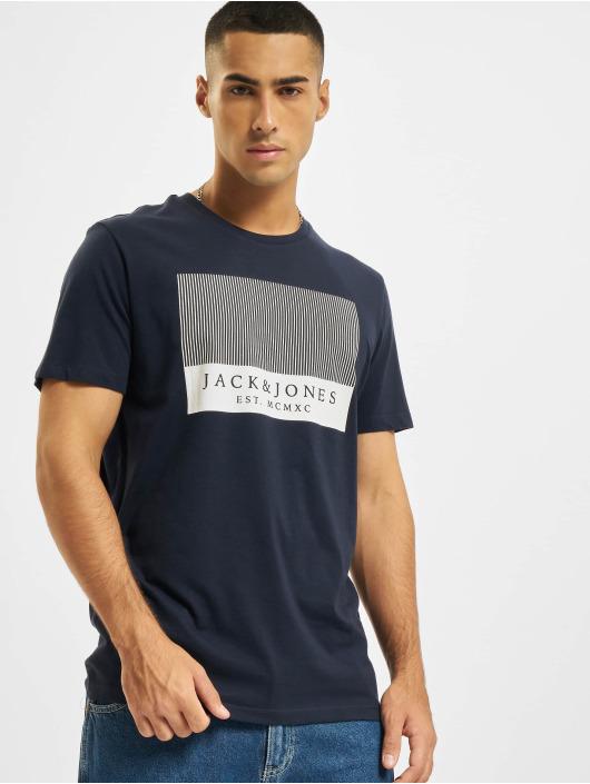 Jack & Jones T-shirts JjStroke blå