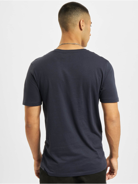 Jack & Jones T-shirts Jjejeans O-Neck blå