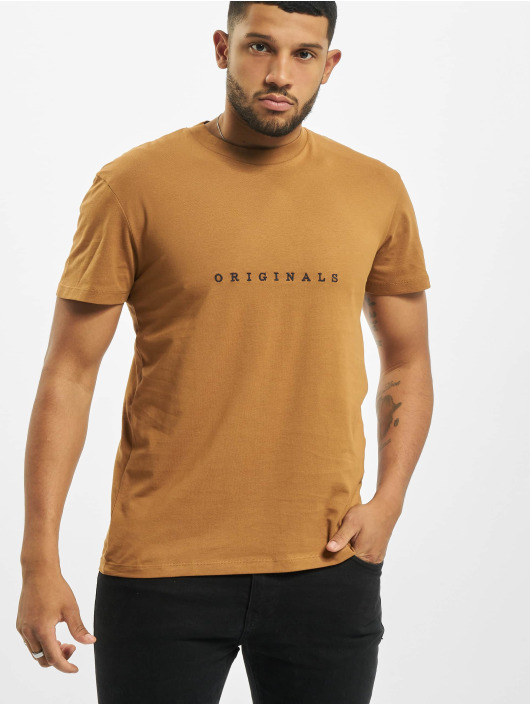 Jack & Jones T-shirts jorCopenhagen brun