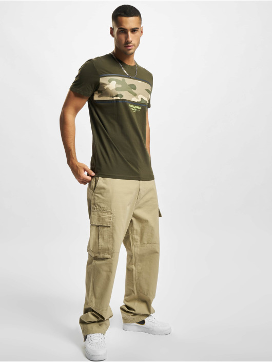 Jack & Jones T-shirts Jjsoldier grøn
