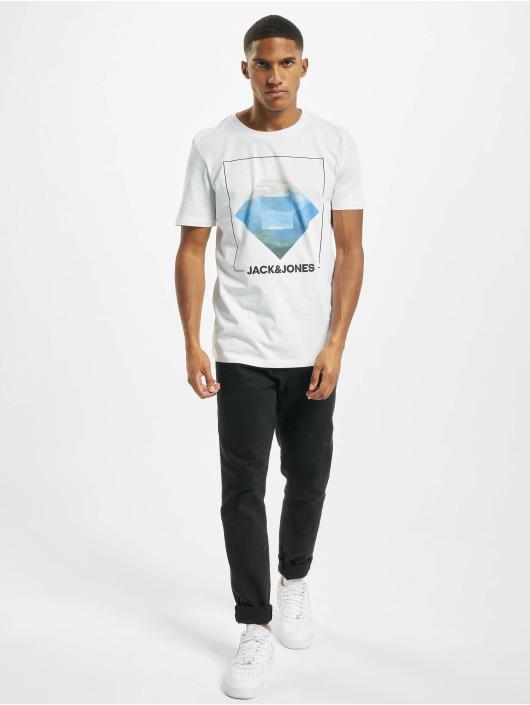 Jack & Jones T-shirts jjBarista hvid