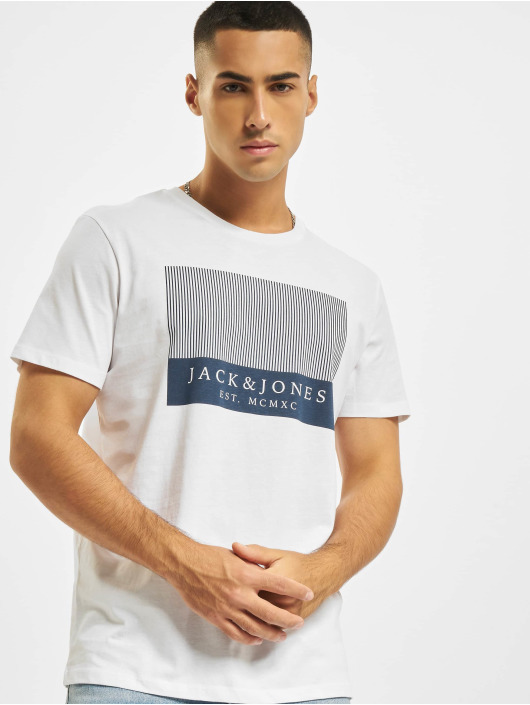 Jack & Jones T-shirts JjStroke hvid