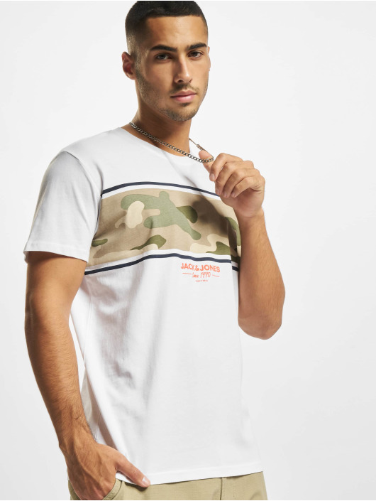 Jack & Jones T-shirts Jjsoldier hvid
