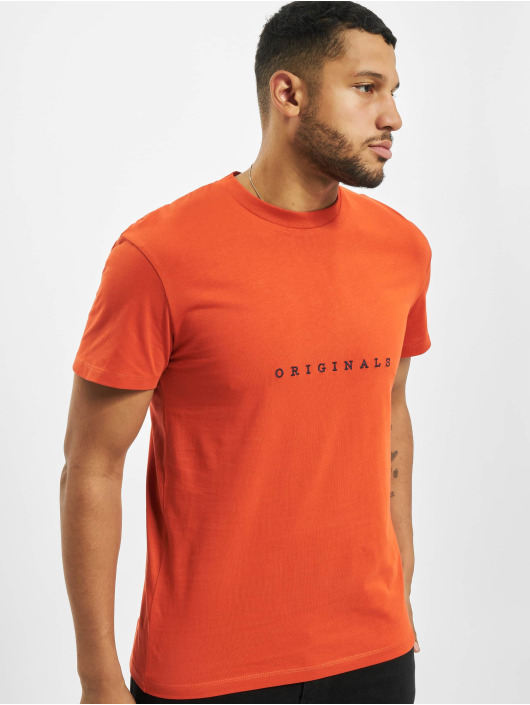 Jack & Jones T-shirts jorCopenhagen orange