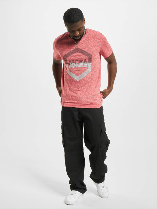 Jack & Jones T-shirts jjDelight rød