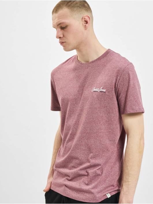 Jack & Jones T-shirts jorTons rosa