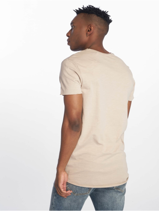 Jack & Jones T-Shirty jjeBas bezowy