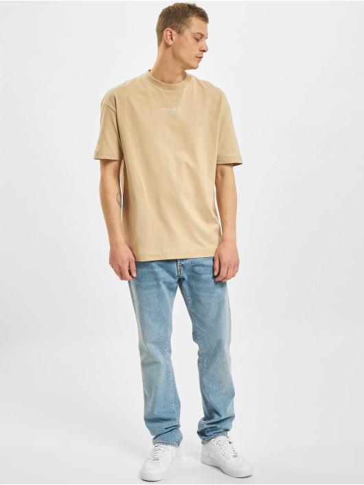 Jack & Jones T-Shirty JPR Blageo Box Fit bezowy