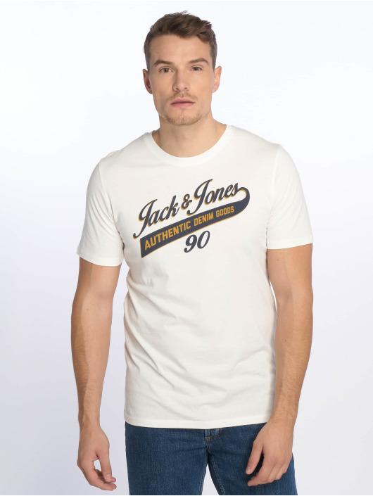 Jack & Jones T-Shirty jjeLogo bialy