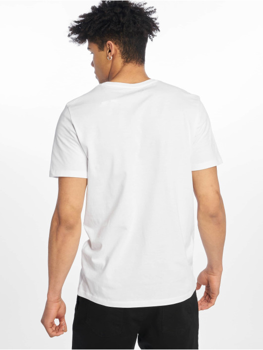 Jack & Jones T-Shirty jcoSpring-Feel bialy