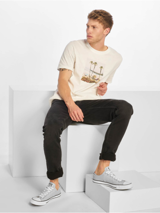 Jack & Jones T-Shirty jorTheo bialy