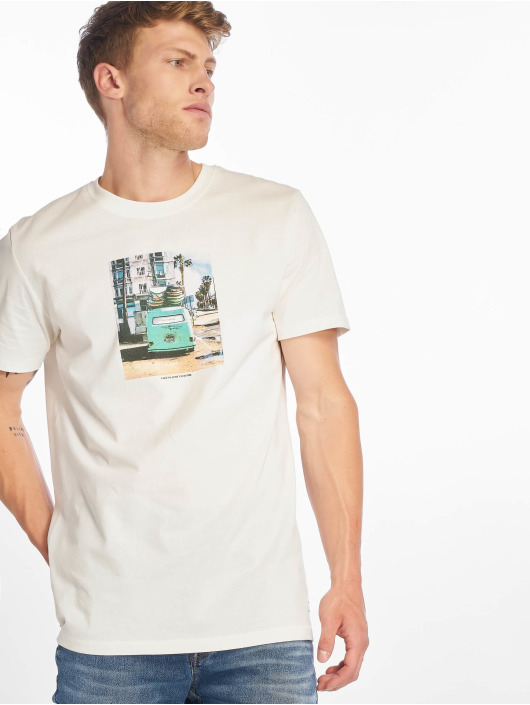 Jack & Jones T-Shirty jorTheo bialy