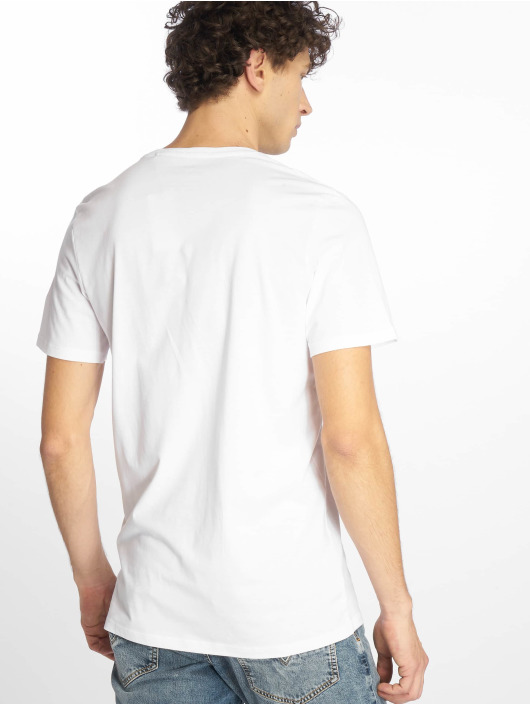 Jack & Jones T-Shirty jjeCorp bialy