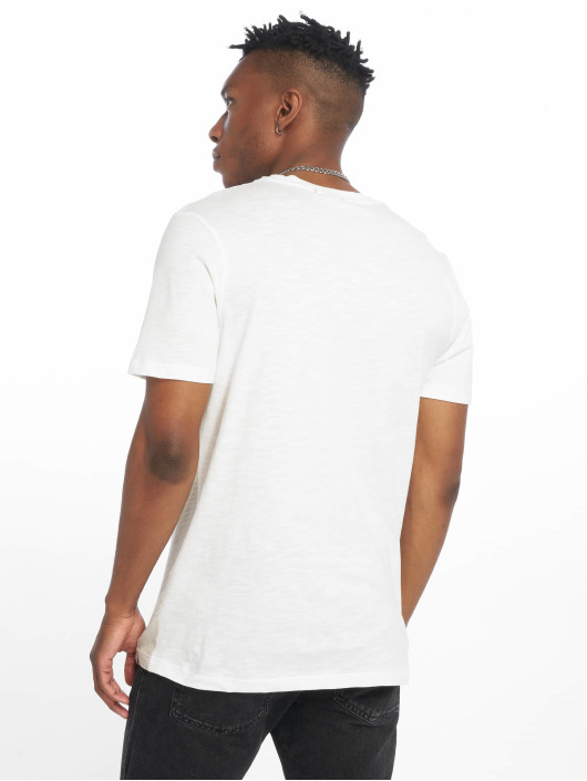 Jack & Jones T-Shirty jorTobi bialy