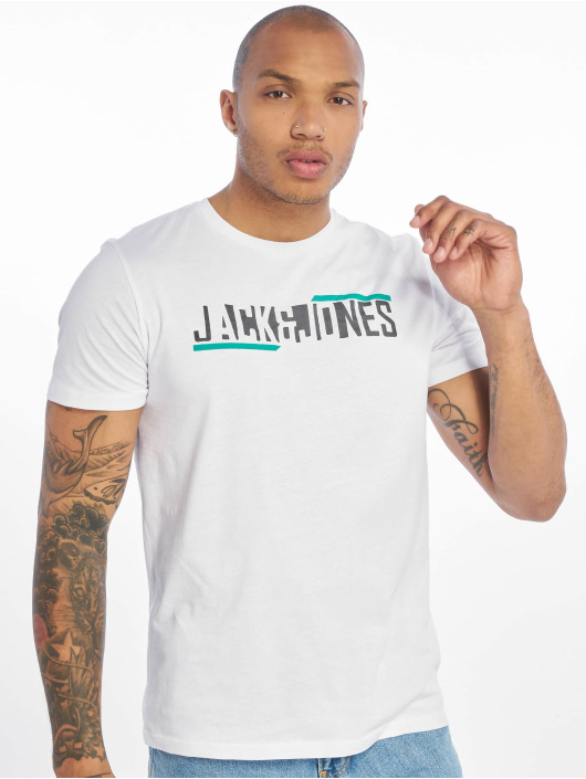Jack & Jones T-Shirty jcoBooster bialy
