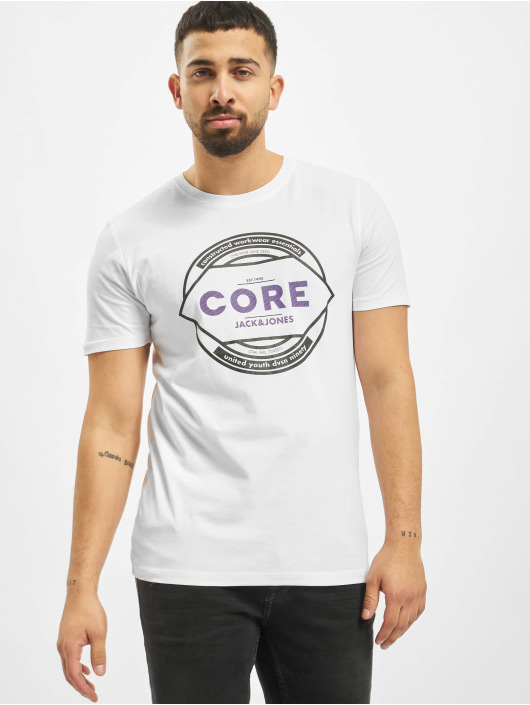 Jack & Jones T-Shirty jcoFebby bialy