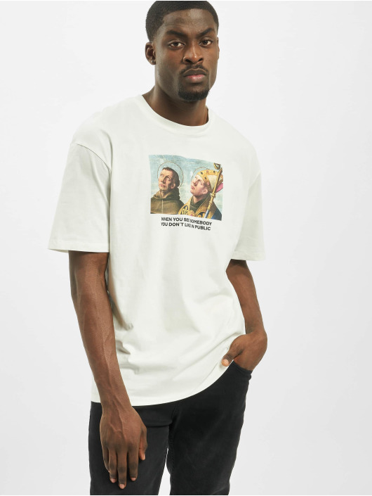 Jack & Jones T-Shirty jorMeme bialy