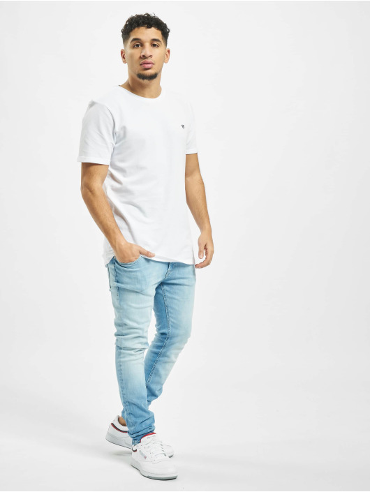 Jack & Jones T-Shirty jprBlahardy bialy