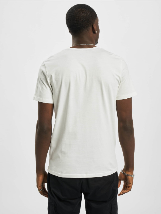 Jack & Jones T-Shirty jorTonni bialy