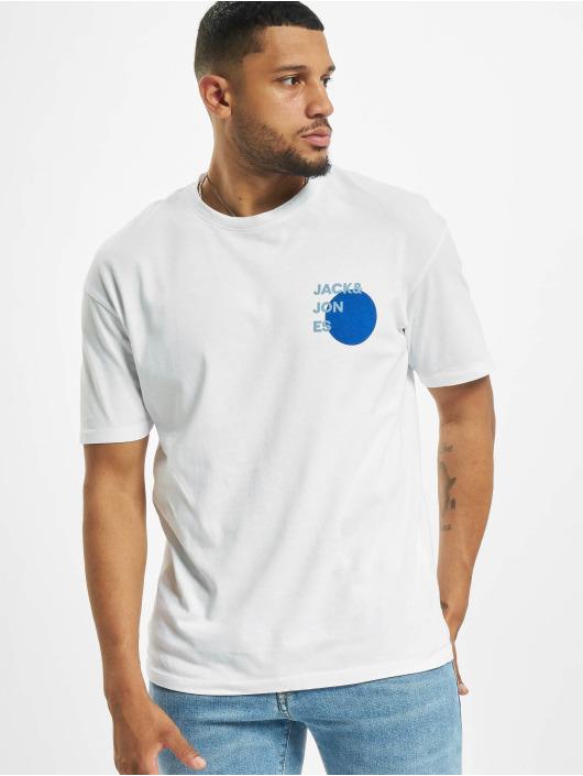 Jack & Jones T-Shirty jjAarhus bialy